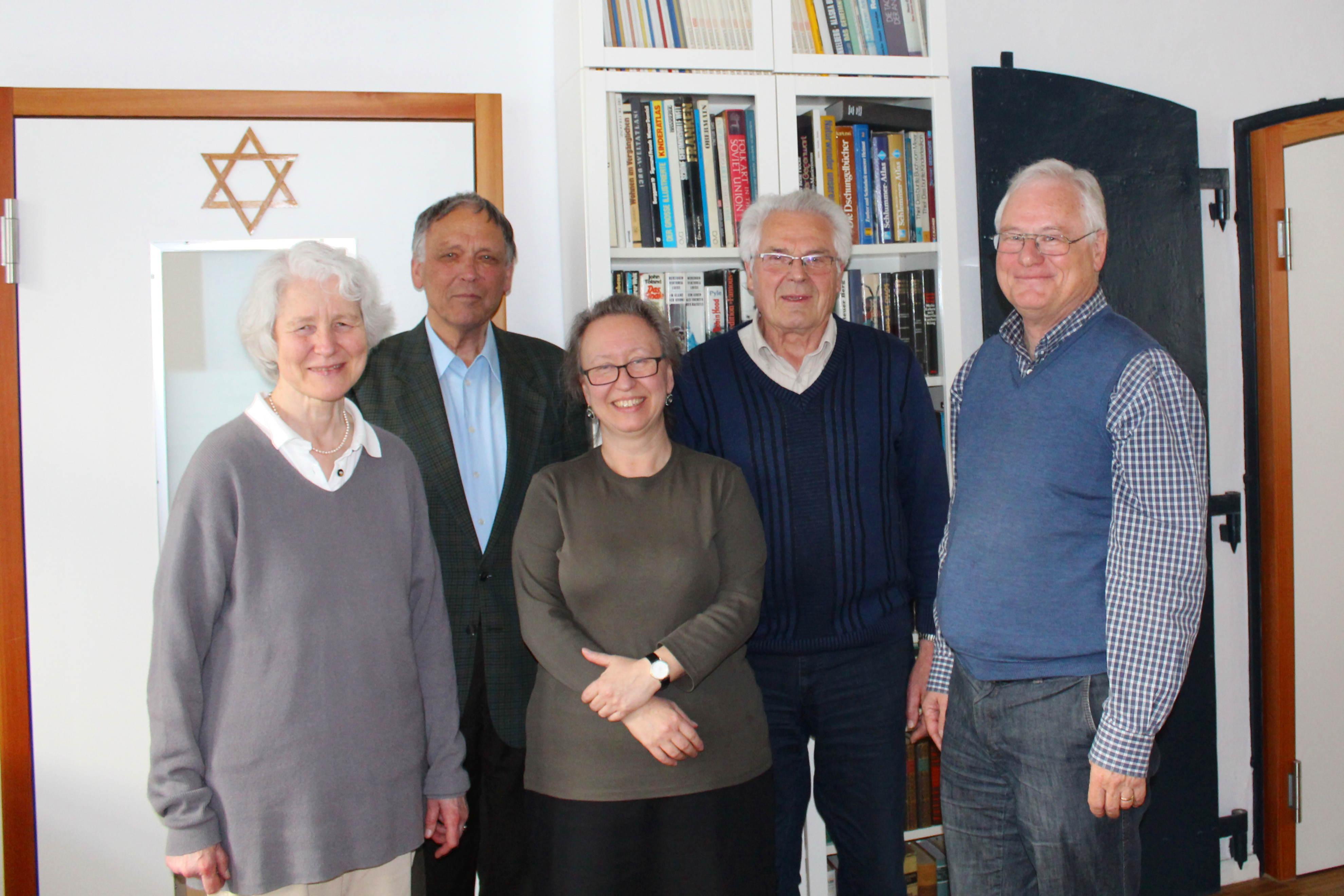 Verein Vorstand April 2014 - klein